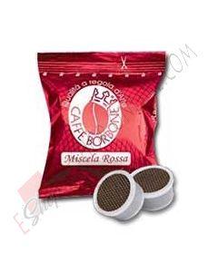 Caffe Borbone capsule compatibili Lavazza Espresso Point miscela Rossa