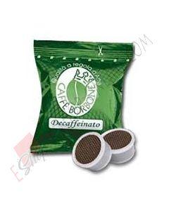Caffe Borbone capsule compatibili Lavazza Espresso Point miscela Verde/Dek