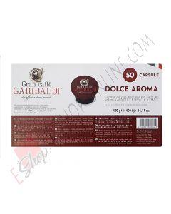 Capsula Caffè Garibaldi compatibile Firma e Vitha qualità Dolce Aroma 50 PZ