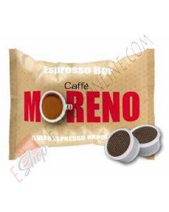 Capsula Caffè Moreno compatibile Espresso Point miscela Espresso Bar 100 PZ