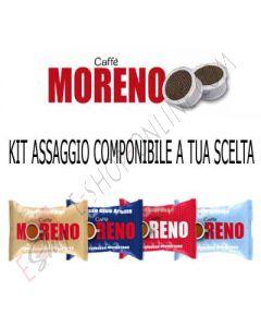 Kit assaggio Caffè Moreno capsule compatibili Lavazza Espresso Point