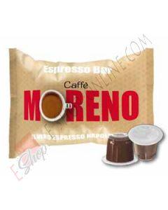 Negozio online a prezzi scontati di Caffe Moreno Espresso Bar in capsule compatibili Lavazza Espresso Point