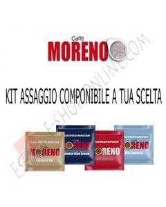 Kit assaggio assortito Caffè Moreno cialde