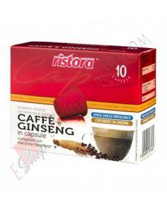 Capsule di Caffè e Ginseng Ristora compatibili Nespresso