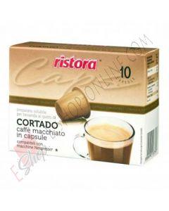 Capsule Ristora di Cortado compatibili Nespresso