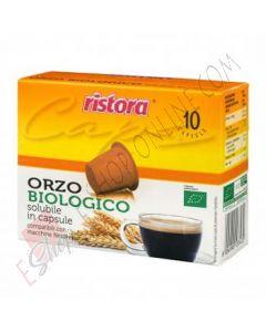 Capsula Ristora compatibile con Nespresso di Orzo Biologico