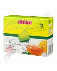 Capsule Ristora The al Limone compatibili con Nespresso