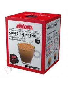 Capsule di Caffè e Ginseng Ristora compatibili con Dolce Gusto