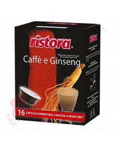 Capsule compatibili con Nespresso di Caffè e Ginseng della Ristora