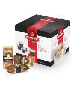 Capsula Covim Pressò miscela Gold Arabica compatibile Nespresso