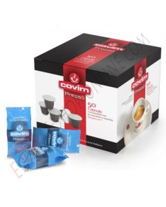 Capsula Covim Pressò miscela Suave Decaffeinato compatibile Nespresso
