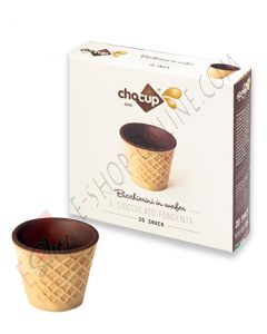 Chocup Mini bicchiere wafer e cioccolato 30 ml 20 PZ