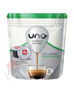Capsule Illy Caffè Decaffeinato Verde per Uno System