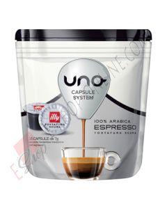 Capsule Illy Caffè Tostatura Scura Nera per Uno System