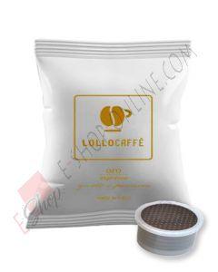 Capsula Lollo Caffè compatibile Espresso Point miscela Oro