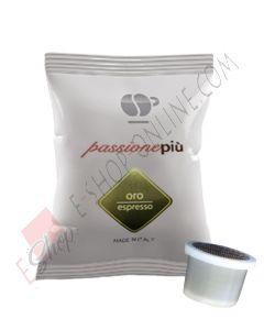 Lollo Caffe PassionePiù Nero Espresso in capsule compatibili Uno System