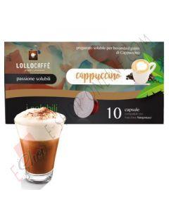 capsula lollo compatibile nespresso cappuccino solubile