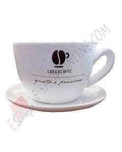 Tazzona gigante con piattino Lollo Caffè