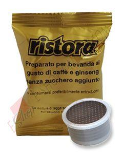 Capsula Ristora compatibile Espresso Point di Caffè e Ginseng Amaro
