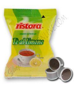 Capsule Tè Limone Ristora compatibili Lavazza Espresso Point