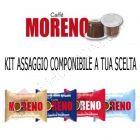Kit assaggio assortito capsule Caffè Moreno compatibili Nespresso
