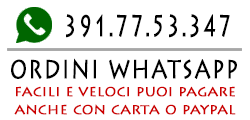 E-Shop negozio online ordini WhatsApp