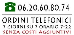 E-Shop negozio online ordini telefonici