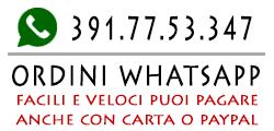 E-Shop negozio online ordini WhatsApp